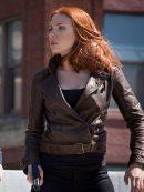 The Winter Soldier Scarlett Johansson Jacket