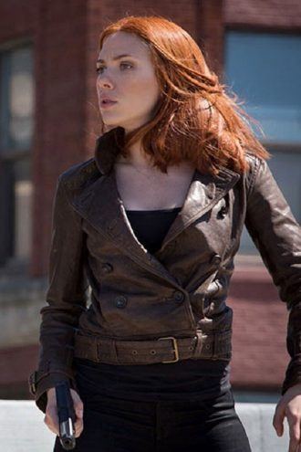 The Winter Soldier Scarlett Johansson Jacket