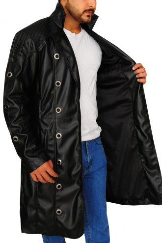 Adam Jensen Cosplay Costume Coat