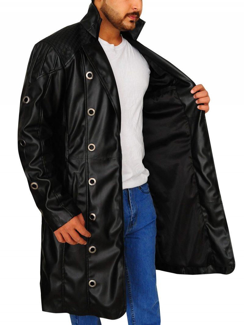 Adam Jensen Cosplay Costume Coat