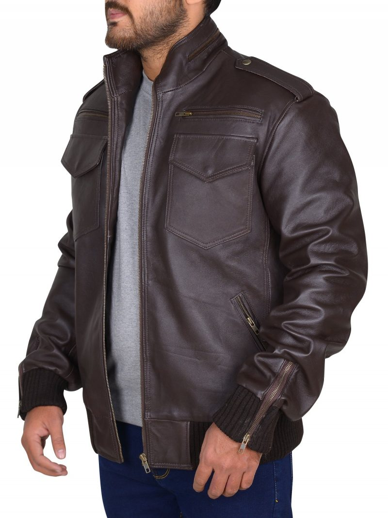 Detective Jake Peralta Brooklyn 99 Leather Jacket