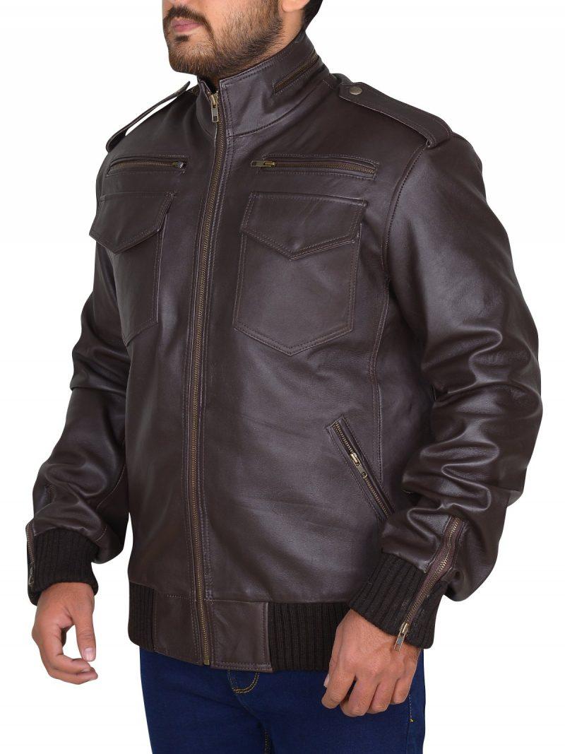 Detective Jake Peralta Brooklyn Nine-Nine Brown Jacket