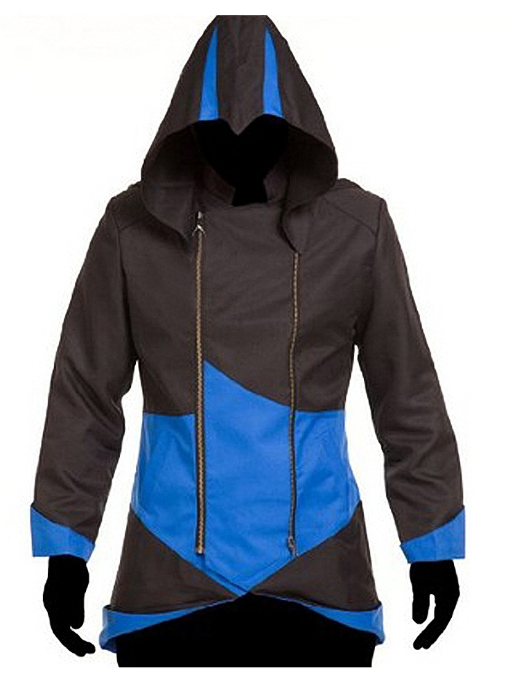 Assassin S Creed Black And Blue Coat Top Celebs Jackets