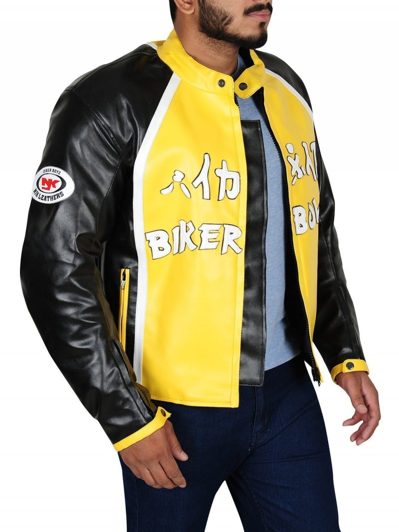 Biker Boyz Derek Luke Yellow Leather Jacket