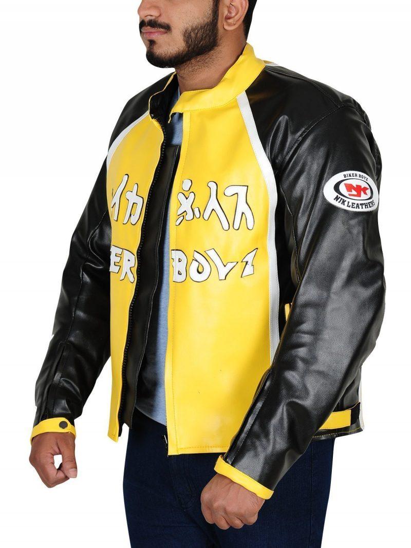 Derek Luke Biker Boyz Leather Jacket