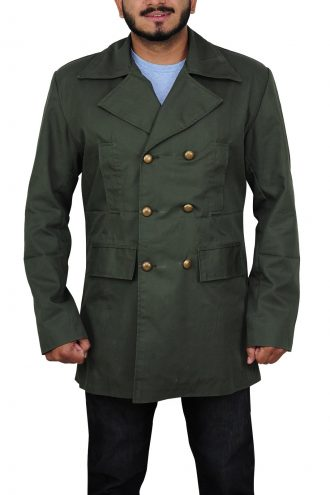 Eleventh Doctor Who Green Coat