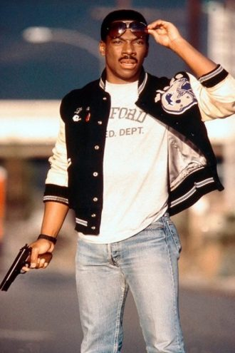 Axel Foley Detroit Lions Jacket