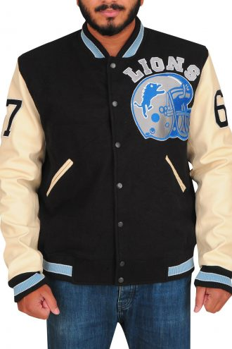 Beverly Hills Cop Detroit Lions Axel Foley Stylish Jacket