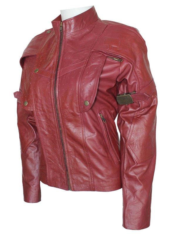 Guardians of the Galaxy Women Maroon Jacket