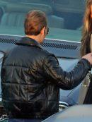 Johnny Depp Black Mass Black Leather Jacket