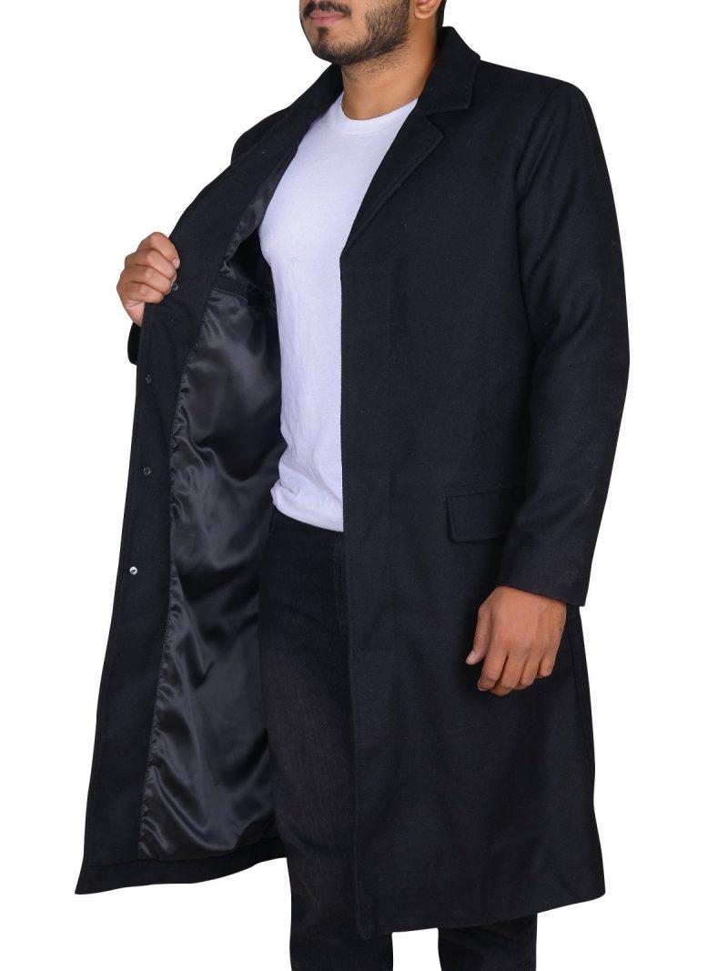 Keanu Reeves John Constantine Stylish Black Coat
