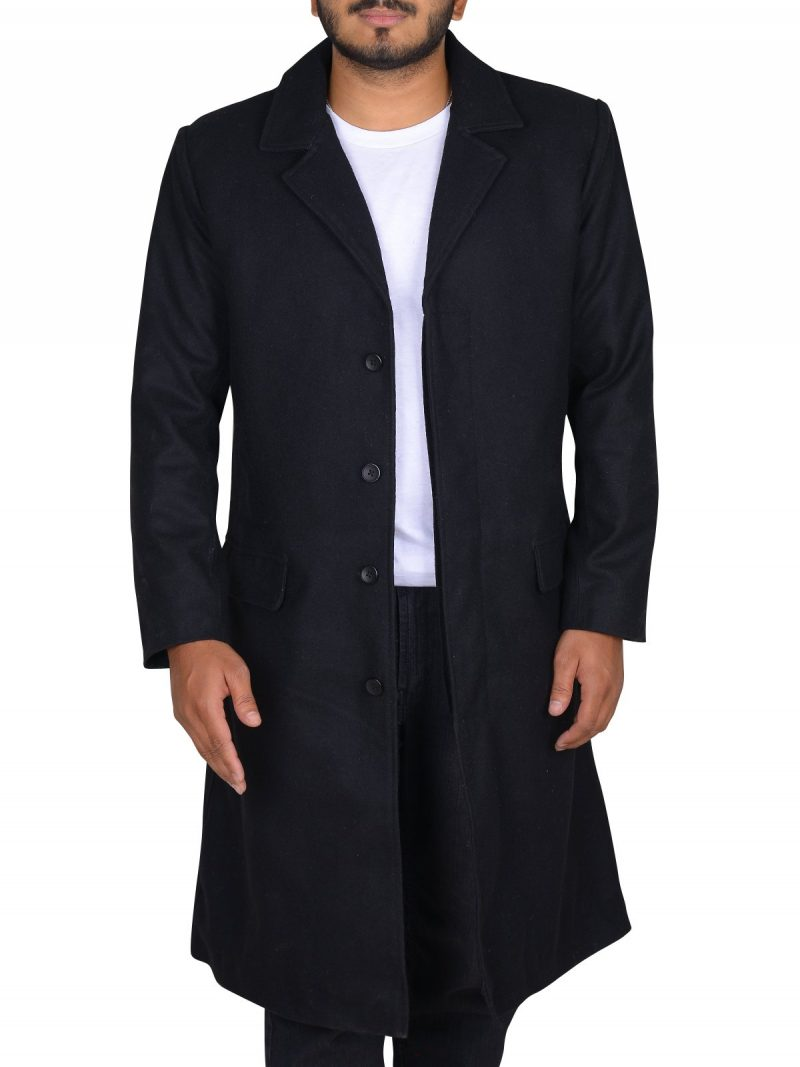 John Constantine Keanu Reeves Black Coat
