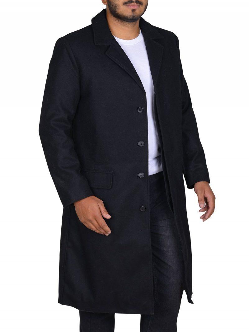 John Constantine Keanu Reeves Stylish Black Coat