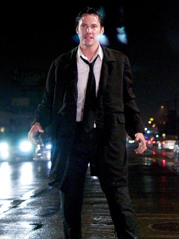 John Constantine Keanu Reeves Stylish Coat