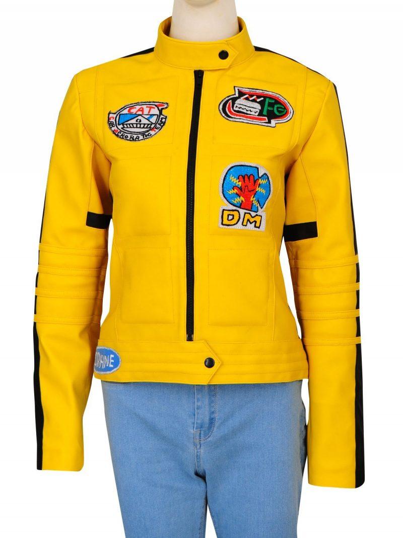 Kill Bill Uma Thurman Yellow Jacket