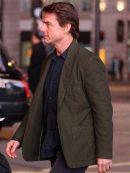 MI5 Rogue Nation Tom Cruise Green Jacket