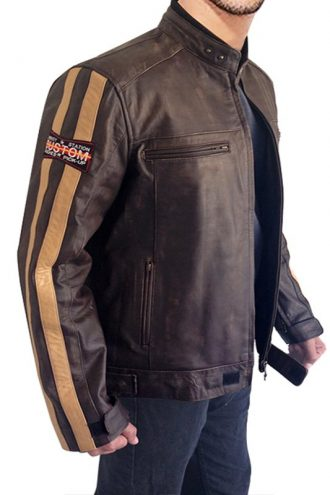 Retro Racing Richa Motorcycle Leather Jacket