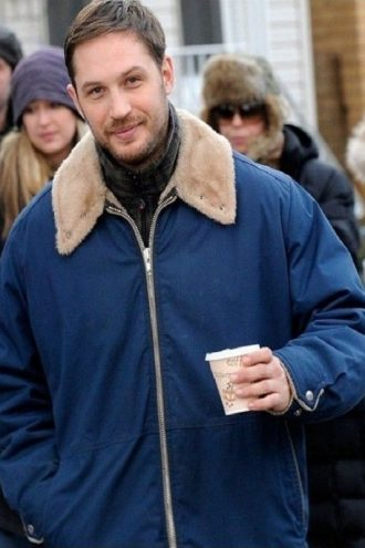 The Drop Tom Hardy Blue Jacket