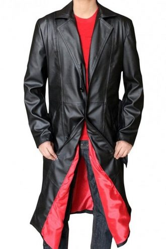 Wesley Snipes Blade Leather Trench Coat