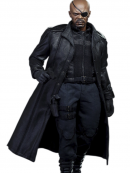 Nick Fury The Winter Soldier Long Coat