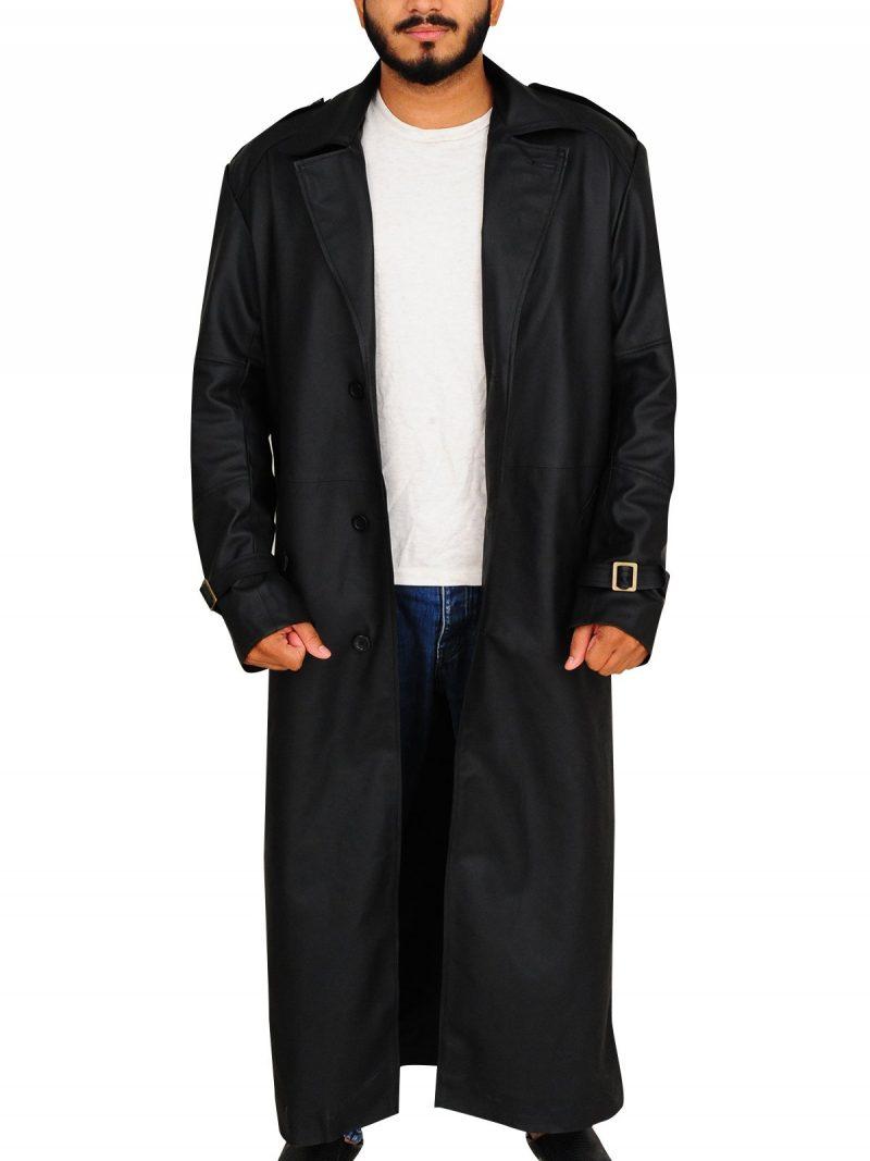 Nick Fury The Winter Soldier Stylish Coat