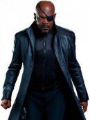 Nick Fury The Winter Soldier Coat