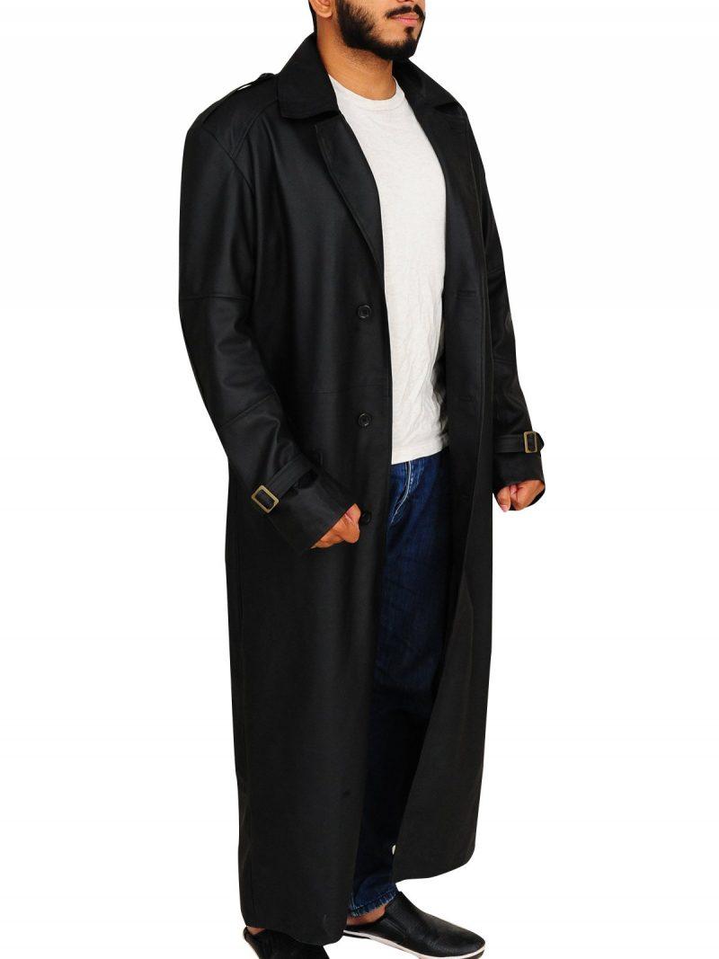 Nick Fury The Winter Soldier Black Coat