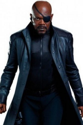 Nick Fury The Winter Soldier Coat
