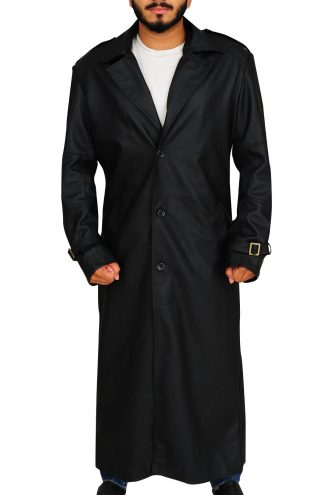 The Winter Soldier Nick Fury Trench Coat
