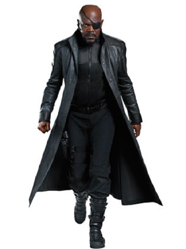 The Winter Soldier Nick Fury Long Coat