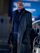 The Winter Soldier Nick Fury Black Coat