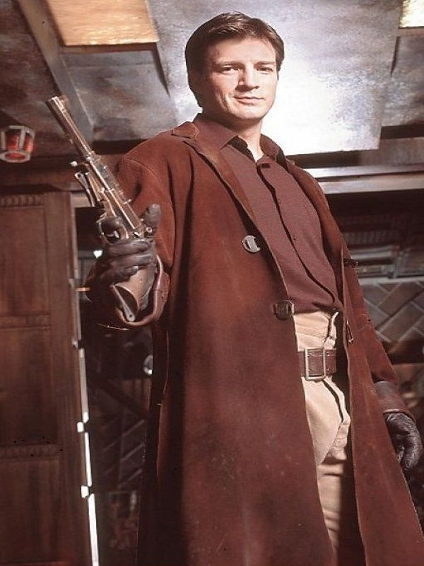 Firefly Captain Malcolm Reynolds Trench Coat