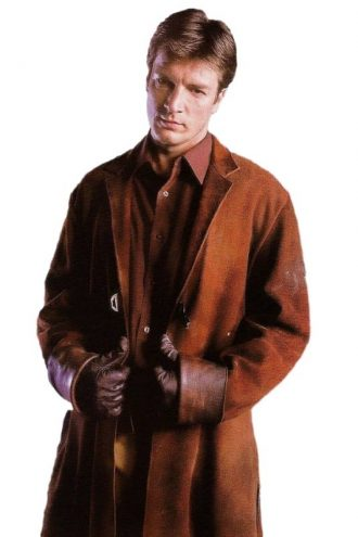 Nathan Fillion Firefly Trench Coat