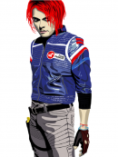 My Chemical Romance Party Poison Blue Costume Jacket