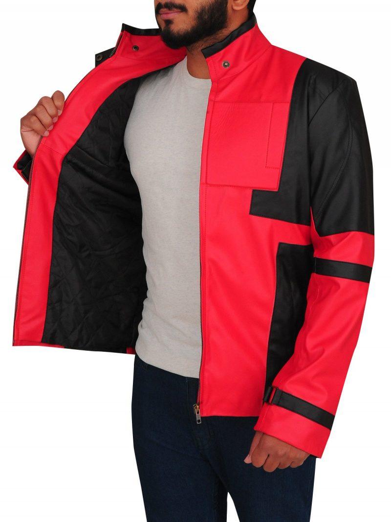 Deadpool 2 Ryan Reynolds Cosplay Leather Jacket