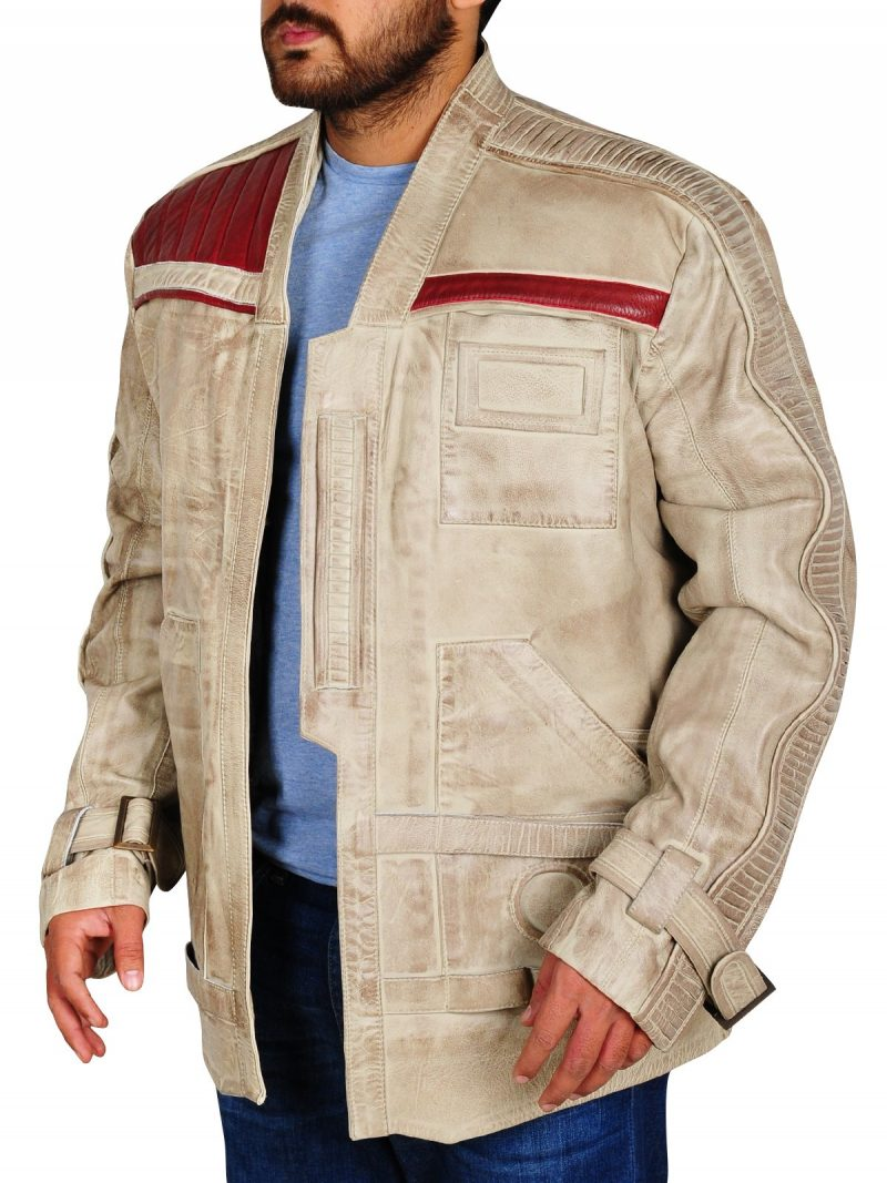 John Boyega The Last Jedi Finn Leather Jacket