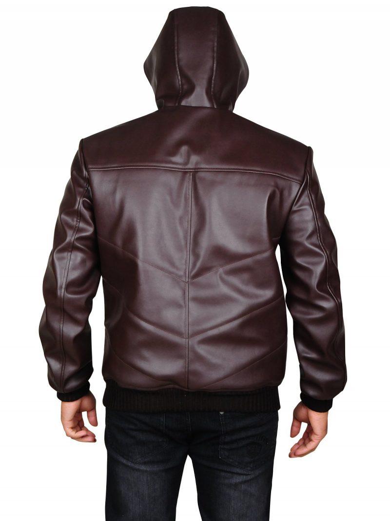 Lee Byung-Hun Devil Hood Leather Jacket