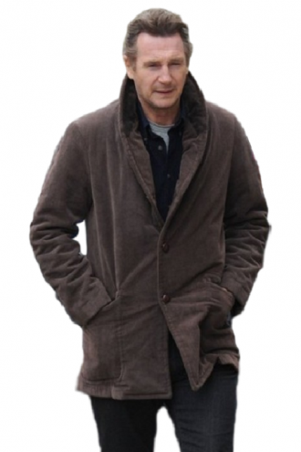 Matt Scudder Stylish Brown Coat