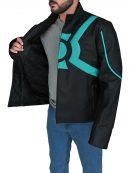 Superhero Green Lantern Cosplay Jacket