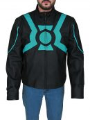 Superhero Green Lantern Costume Jacket