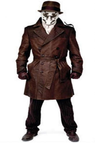 Watchmen Rorschach Trench Costume Coat