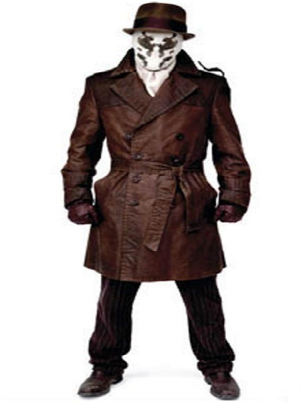 Watchmen Rorschach Trench Costume Coat