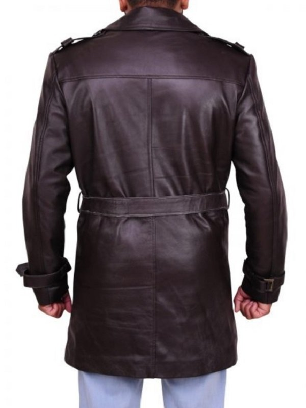 Rorschach Watchmen Leather Coat