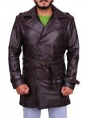 Rorschach Watchmen Leather Trench Coat