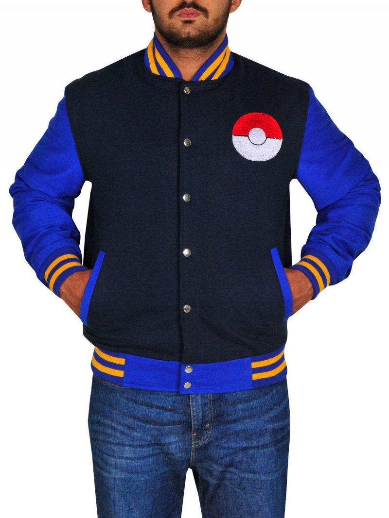 Pokemon Letterman Jacket