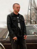 Aaron Paul Breaking Bad Black Jacket