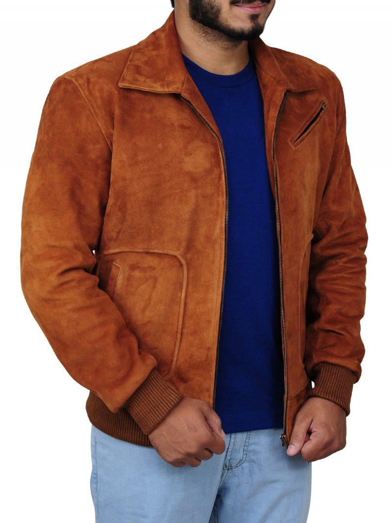 Armie Hammer Man from U.N.C.L.E Stylish Brown Jacket
