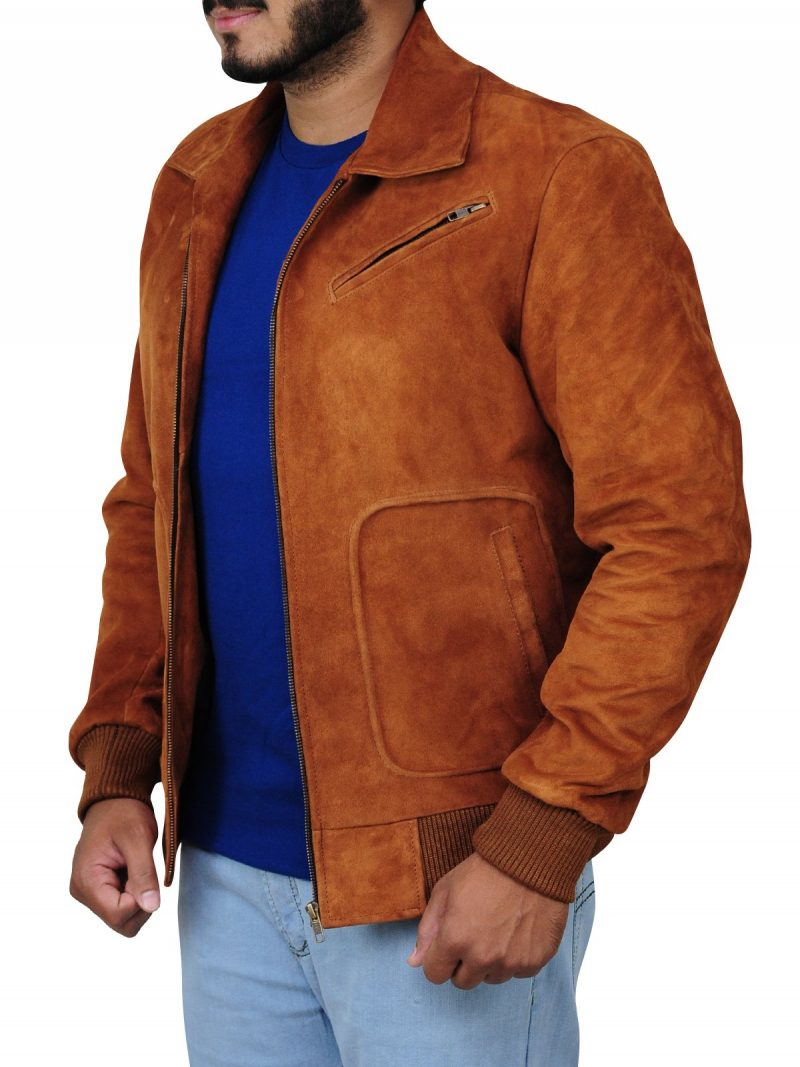 Armie Hammer Man from U.N.C.L.E Leather Jacket