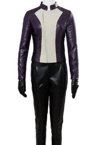 The Flash Season 4 Iris West Leather Jacket