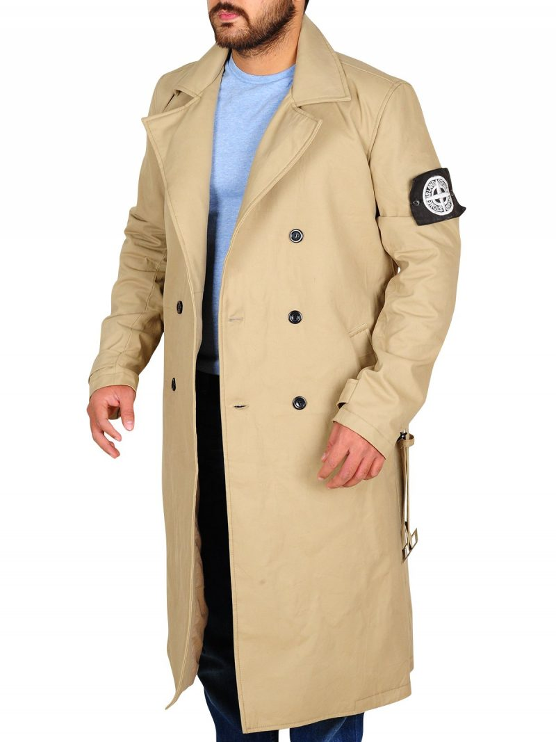 Charlie Hunnam Green Street Long Coat